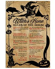 Witch Witches Home  16x24 Poster front