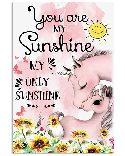 Baby Unicorn You are My Sunshine My Only SUnshine