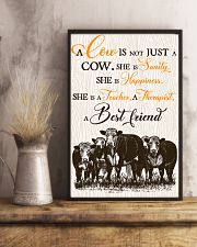 Cow A Cow Is Not Just A Cow She Is Sanity  16x24 Poster lifestyle-poster-3