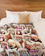 "Horse Mini Horse baby horse ranch Large Fleece Blanket - 60"" x 80"" aos-coral-fleece-blanket-60x80-lifestyle-front-02"