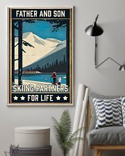 Skiing Father And Son 16x24 Poster lifestyle-poster-1