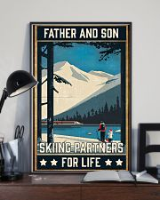 Skiing Father And Son 16x24 Poster lifestyle-poster-2