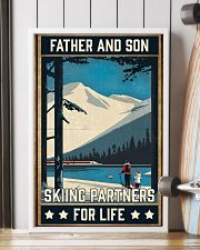 Skiing Father And Son 16x24 Poster lifestyle-poster-4