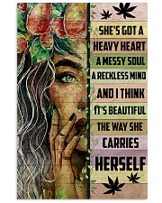 Hippie She's Got A Heave Heart 16x24 Poster front