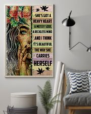 Hippie She's Got A Heave Heart 16x24 Poster lifestyle-poster-1