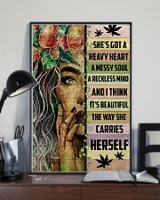 Hippie She's Got A Heave Heart 16x24 Poster lifestyle-poster-2