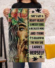 Hippie She's Got A Heave Heart 16x24 Poster poster-portrait-16x24-lifestyle-18