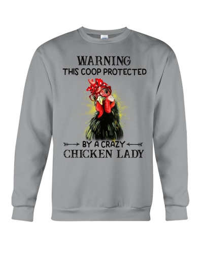Chicken Warning This Coop Protect