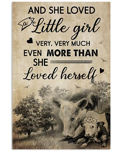 Cow And She Love A Little Girl