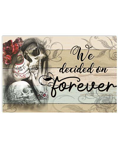 Skull We Decided Us Forever