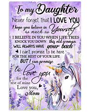 Unicorn To My Daughter Never  16x24 Poster front