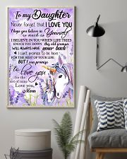 Unicorn To My Daughter Never  16x24 Poster lifestyle-poster-1