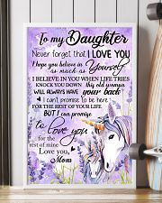 Unicorn To My Daughter Never  16x24 Poster lifestyle-poster-4