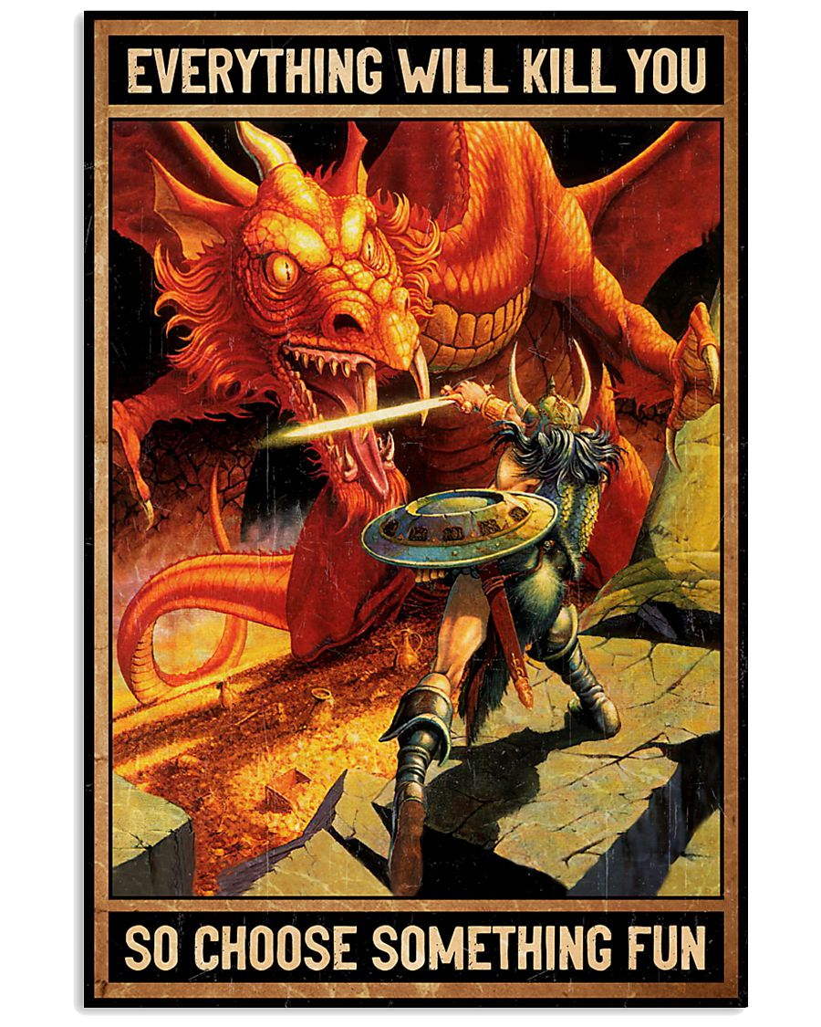 Dragons 16x24 Poster