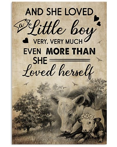 Cow And She Love A Little Boy Very