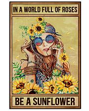 Hippie In A World Full Of Roses  16x24 Poster front