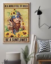 Hippie In A World Full Of Roses  16x24 Poster lifestyle-poster-1