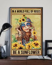 Hippie In A World Full Of Roses  16x24 Poster lifestyle-poster-2