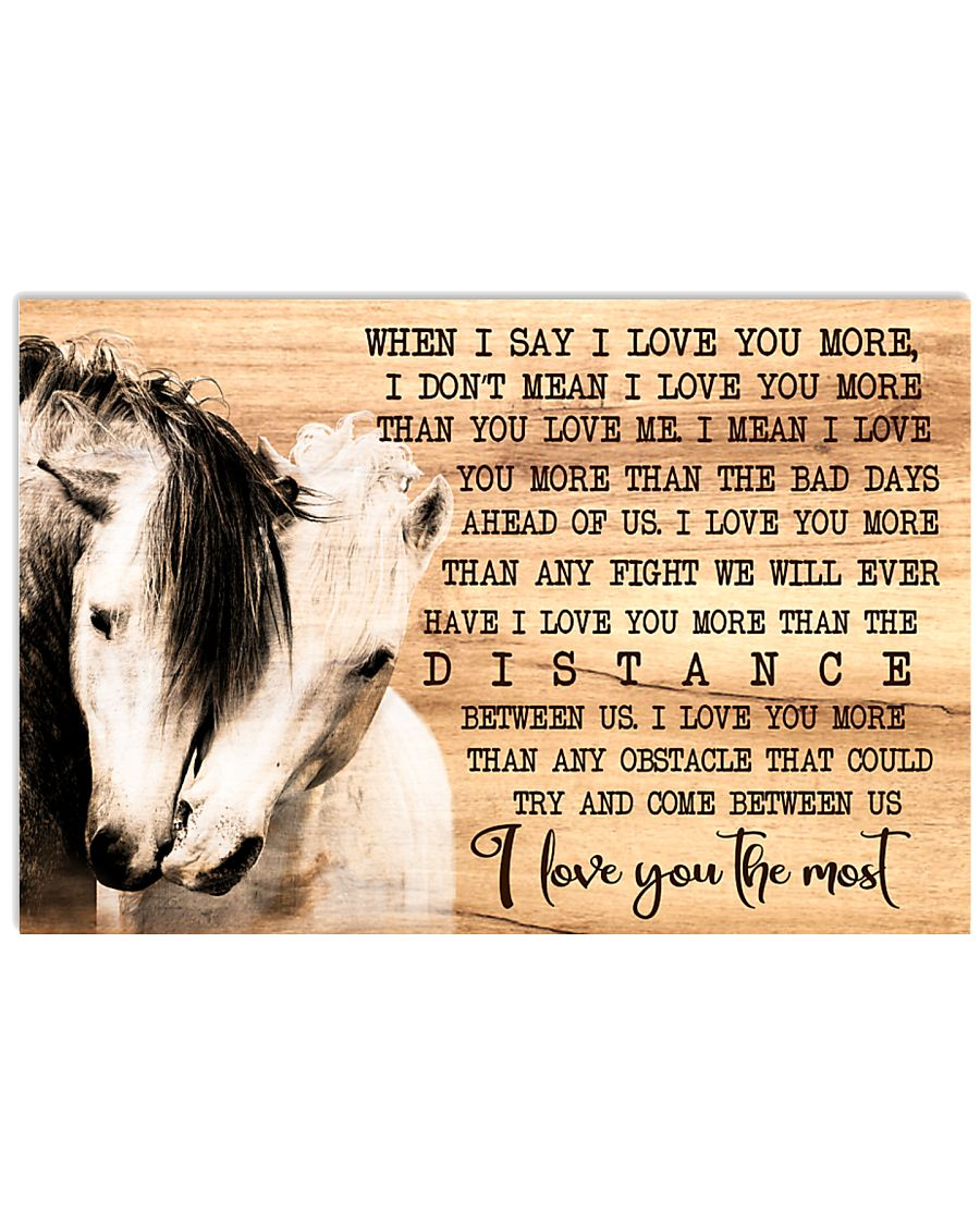 Horse 24x16 Poster
