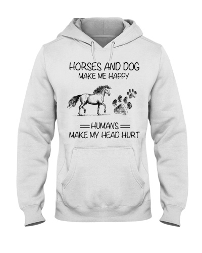Horse Horses and dogs make me happy