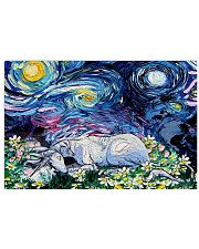 Unicorn Starry Night 24x16 Poster front