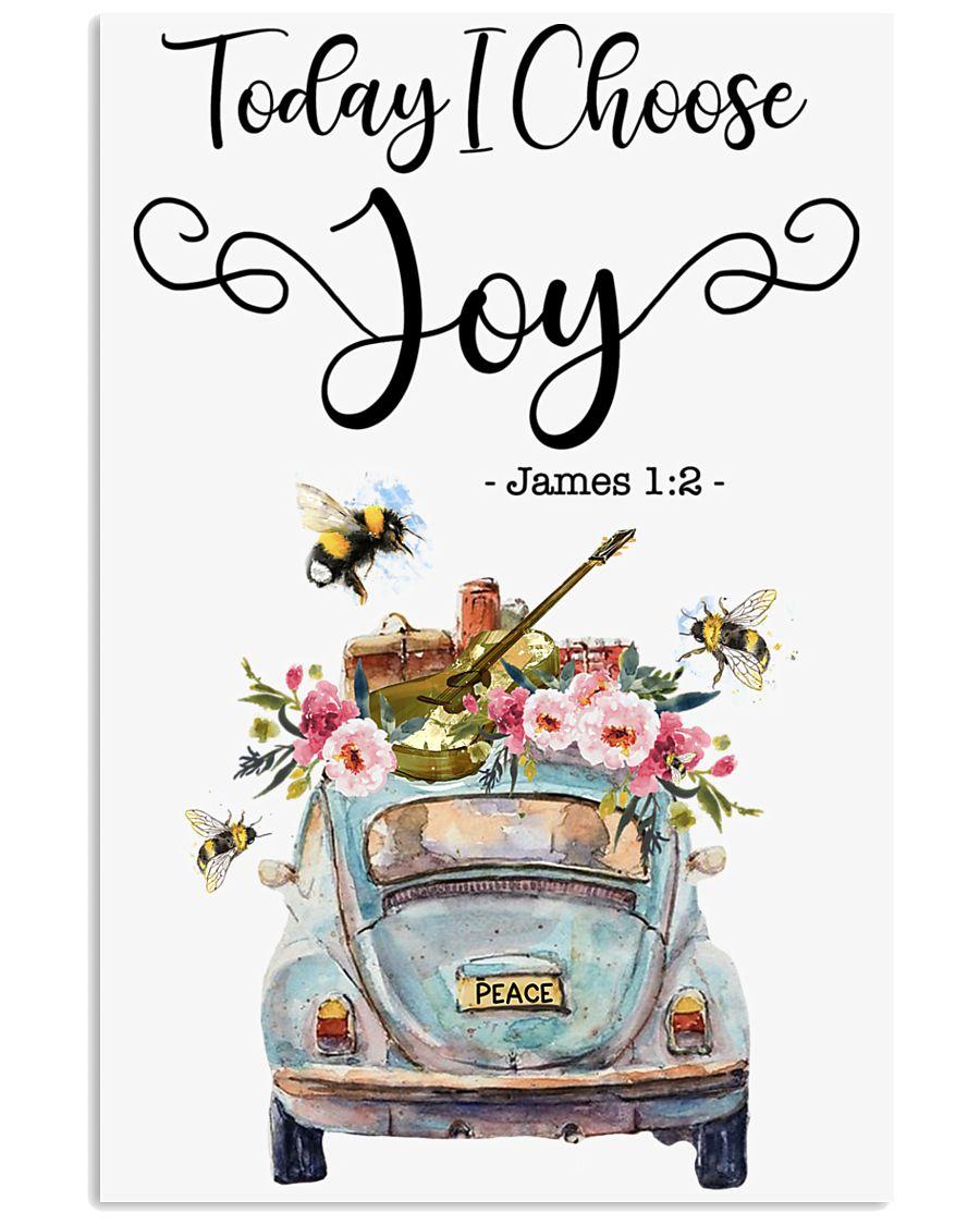 Hippie Today I Choose Joy 16x24 Poster