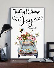Hippie Today I Choose Joy 16x24 Poster lifestyle-poster-2