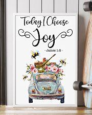 Hippie Today I Choose Joy 16x24 Poster lifestyle-poster-4