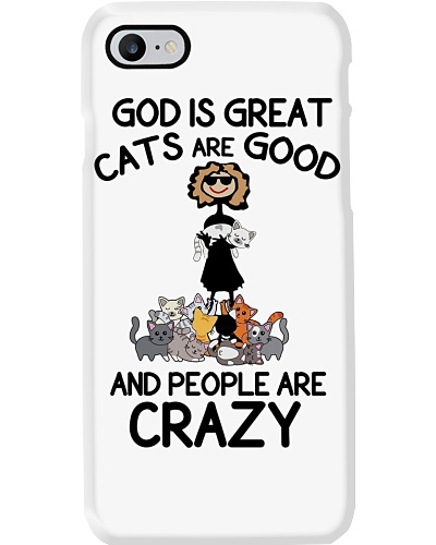 Cat God Is Great Cats Are Good