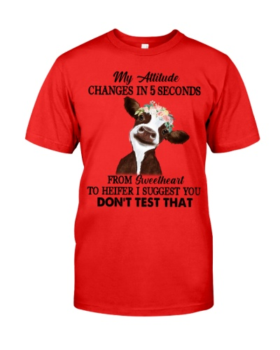 Cow My Attitude Changes In 5 Seconds