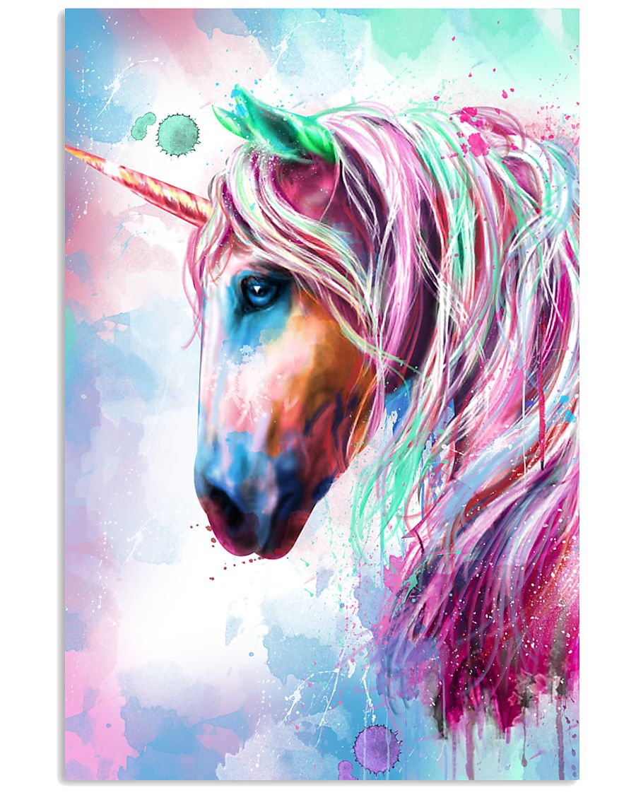 Unicorn Water Color 16x24 Poster