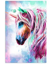 Unicorn Water Color 16x24 Poster front
