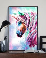 Unicorn Water Color 16x24 Poster lifestyle-poster-2