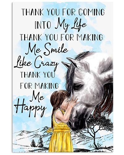 Horse Thank You For Coming Into My Life