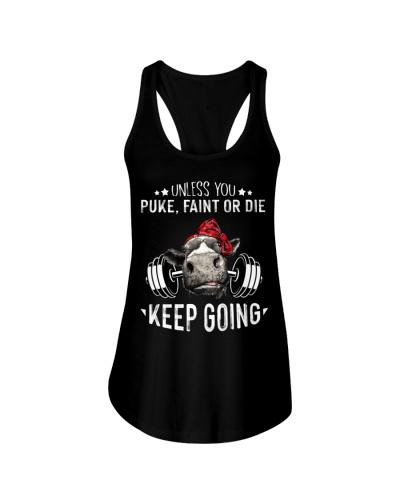 Cow Unless Puke Faint Or