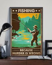 Fishing Because  16x24 Poster lifestyle-poster-2