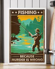 Fishing Because  16x24 Poster lifestyle-poster-4