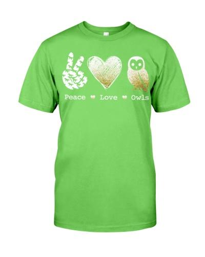 Owl Peace Love Owls