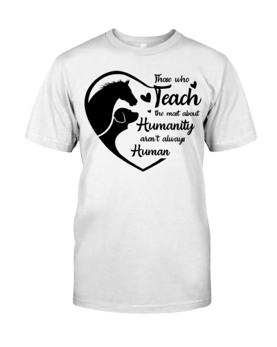 Horse Those who teach the most about humanity
