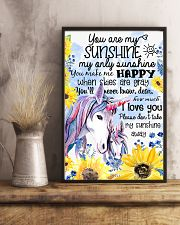 Baby Unicorn You are braver  Nursery Poster 11x17 Poster lifestyle-poster-3