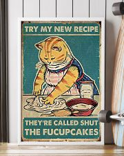 Cat Try Me New Re 16x24 Poster lifestyle-poster-4