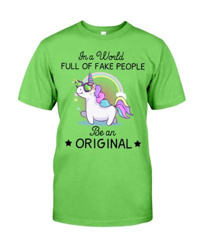 Unicorn In A World Full Of Fakel People