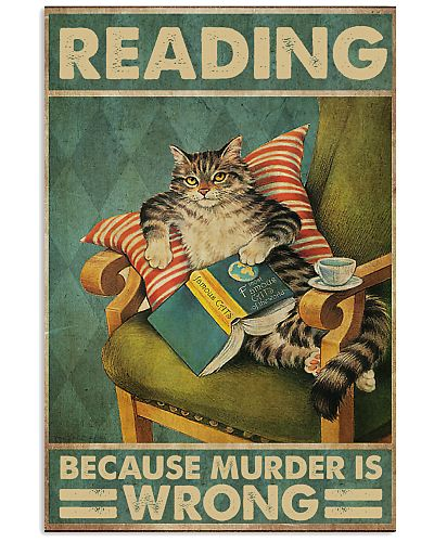 Reading because murder is wrong