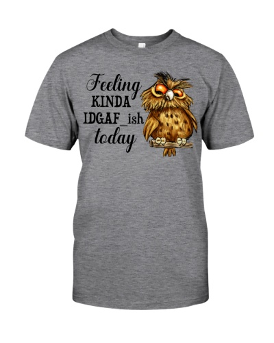 Owl feeling kinda IDGAF ish today