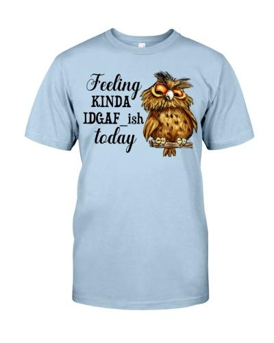 Owl feeling kinda IDGAF ish today