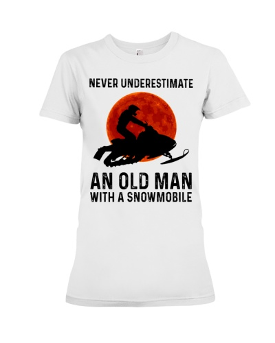 Snowmobile Never underestimate an old man