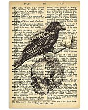 Raven Book 16x24 Poster front