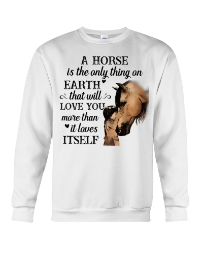 Horse A horse is the only thing on Earth