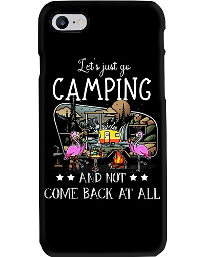 Flamingo Let's Just Go Camping