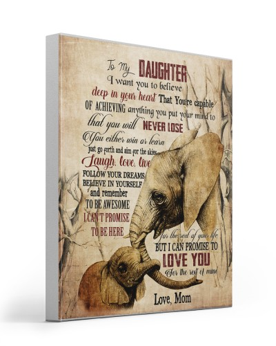 Elephant To My  Daughter I Want You Believe Deep